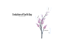 Evolution of Earth Day
