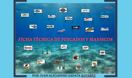 presentación fichas técnicas pescados y mariscos