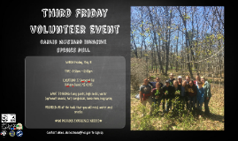 Third Friday Volunteer Event