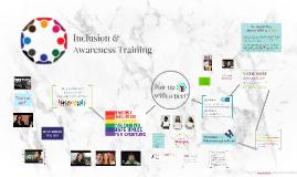RA Inclusion & Awareness Training