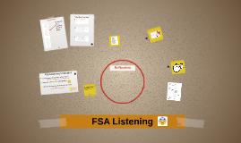 FSA Listening