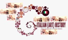 FA EUROPE: Italian (Art) History