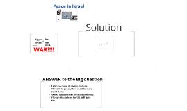 Copy of Peace in Israel