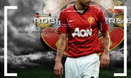 robin van persie is a manchester united strikere from hollan