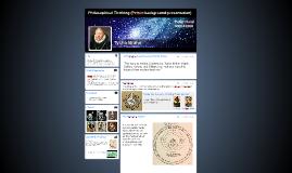 Philosophical Thinking (Peirce-background-presentation)