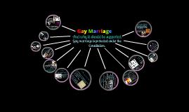 Copy of Gay Marriage
