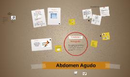 Copy of Abdomen Agudo
