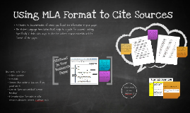 Copy of Citing Sources Using MLA