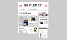 GLOBAL NEWS,GLOBAL CRISES