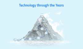Copy of Technology through the Years