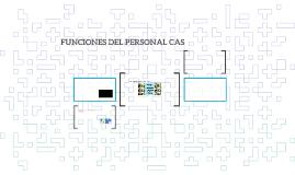 FUNCIONES DEL PERSONAL CAS