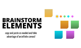 Free Brainstorming Elements by Laurent Pantanacce