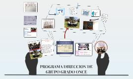 PROGRAMA DIRECCION DE GRUPO GRADO 10