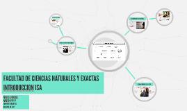 Copy of FACULTAD DE CIENCIAS NATURALES Y EXACTAS