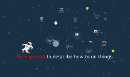 Copy of BY + gerund to describe how to do things