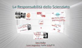 La Responsabilità dello Scienziato