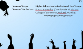 Name of the Author: Prajakta Ambekar (Core Faculty at Mulund