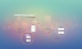 Softball Pitch Speed