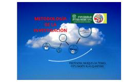 metodologia de la investigaciòn