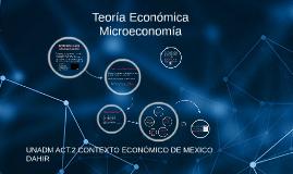 Actividad 2. Teoría Económica (Microeconomia)