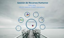 Gestión de Recursos Humanos I