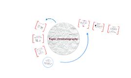 Paper Chromatography Lab