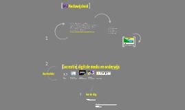 Cocreatie, digitale media en onderwijs - Saskia Dellevoet