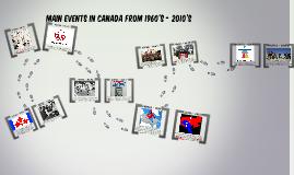 Canada - 1960's