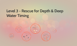 Rescue for Depth & Deep Water Timing