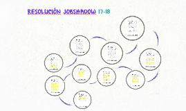 RESOLUCIÓN  JOBSHADOW 17-18