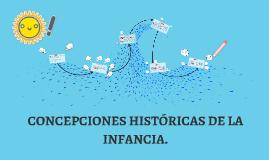 Copy of CONCEPCIONES HISTÓRICAS DE LA INFANCIA.