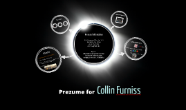 Prezume for Collin Furniss