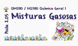 Aula 1.05 Misturas gasosas com reação química