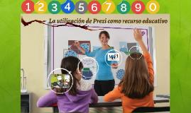 La utilización de Prezi como recurso educativo