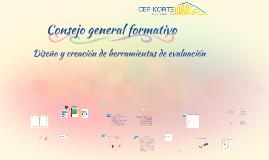 Consejo general Formativo