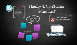 Family & Consumer Sciences Info