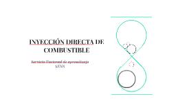 INYECCIÓN DIRECTA DE COMBUSTIBLE