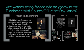 Fundamentalist Church Of Latter Day Saints