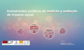 Instrumentos jurídicos de medição e avaliação de impacto soc