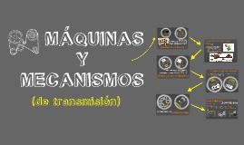 Máquinas y mecanismos de transmisión 2º ESO