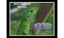 Biol. Gabriela Moreno