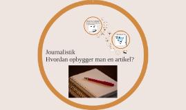 Hvad er en artikel?