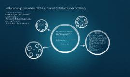 Copy of Relationship between NDNQI Nurse Satisfaction & Staffing