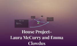 House Project- Laura McCurry and Emma Clowdus