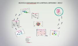 MODELO ESTANDAR DE CONTROL INTERNO - MECI
