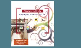 Herramientas para crear contenido multimedia