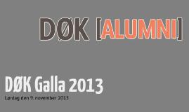 DØK Alumni 2013