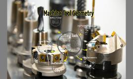 Copy of Machine Tool Geometry