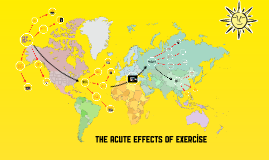 The Acute effects of exercise