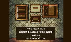 Copy of Wafa Hozien, Ph.D